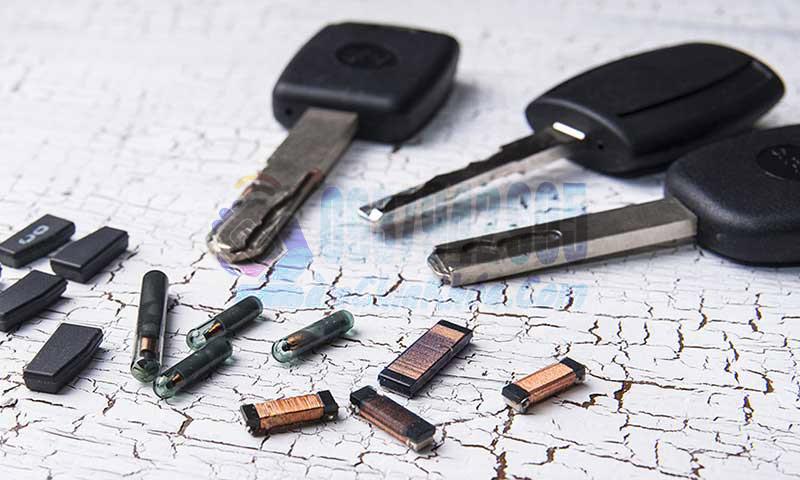làm chìa khóa từ có chip chìa hiss