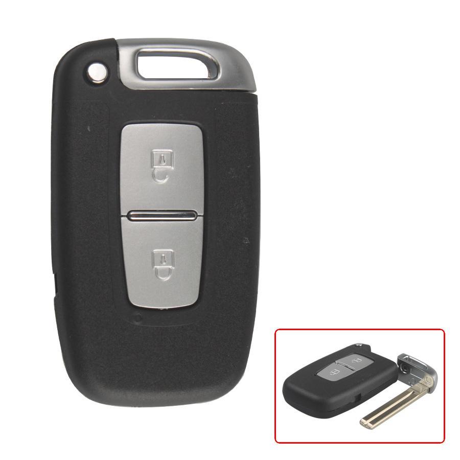 Chìa khóa thông minh Huyndai Santafe 2 nút chính hãng
