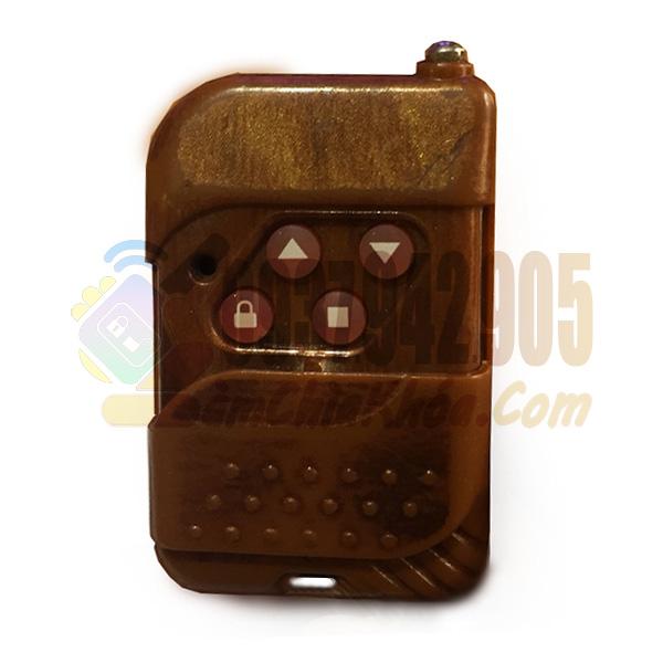 Chìa khóa remote cửa cuốn màu gỗ giá rẻ