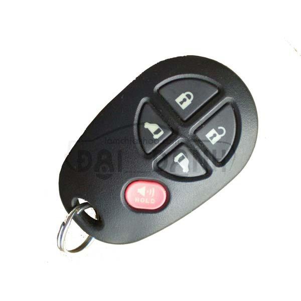 Chìa khóa xe Toyota High Lander 2008 - 2013 remote rời tòng ten chính hãng
