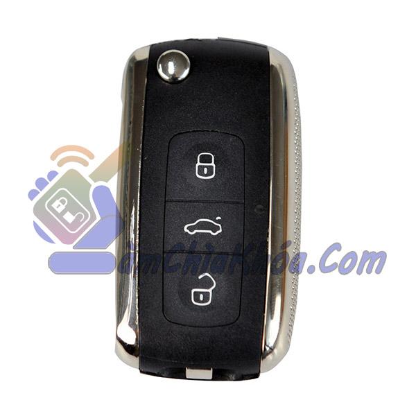 Chìa khóa remote gập chống nước dùng cho Nissan Sunny Teana Xtrail