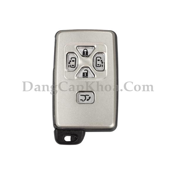 Chìa khóa thông minh Toyota Previa Alphard 5 nút