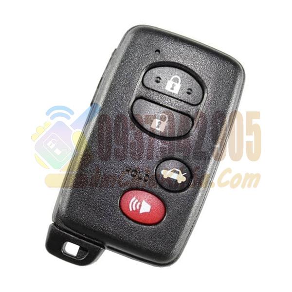 Chìa khóa thông minh Toyota Venza 3 nút báo động đỏ