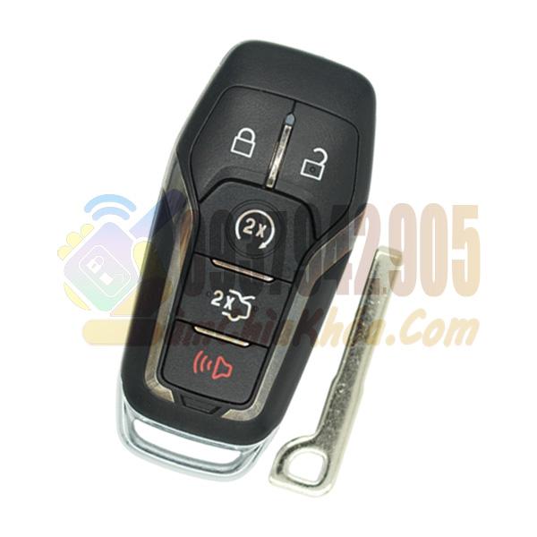 Chìa khóa thông minh xe Ford Explorer 5 nút chính hãng
