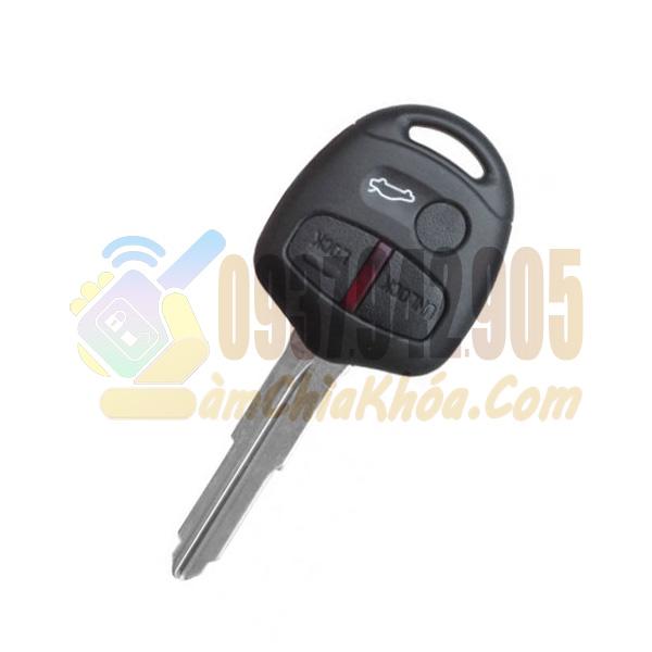 Chìa khóa Mitsubishi Lancer 3 nút chính hãng