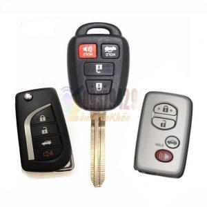 Chìa khóa Camry XLE xe 2012 – 2015 chìa cắm ổ vặn đề máy