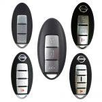 Chìa khóa thông minh Nissan Sunny 3 nút có nút mở cốp