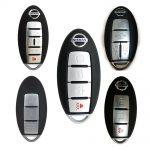 Chìa khóa thông minh Nissan Tiida 4 nút chính hãng dùng được nhiều xe