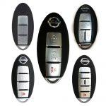 Chìa khóa thông minh Nissan Tiida chính hãng 3 nút, cài được cho các dòng khác