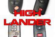 Chìa Khóa Toyota Highlander