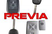 Chìa khóa Toyota Previa