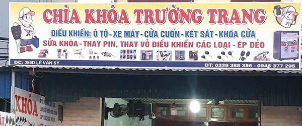 Lợi Key chuyên sửa khóa xe hơi Quận 1 - Tiệm đánh chìa khóa ở đường Nguyễn Trãi