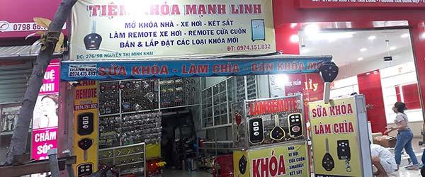 Mạnh Linh tiệm làm chìa khóa ô tô - Cửa hàng bán khóa ở Nguyễn Thị Minh Khai