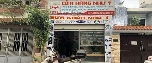 Như Ý chuyên sửa khóa cửa cuốn Quận 1 - Cửa hàng đánh chìa khóa ở Nguyễn Trãi